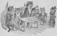 The meeting of the cats -- 01.01.1898 Otavan joulukirjallisuus no A
