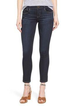 Wit & Wisdom Knit Lux Ankle Skimmer Jeans Size 8 FTC #3267