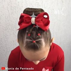 HAIRSTYLE Easy hairstyle with elastics for little ones!Easy hairstyle with elastics for little ones! Toddler Hair Dos, Easy Toddler Hairstyles, Lil Girl Hairstyles, Braided Hairstyles, Cute Kids Hairstyles, Children Hairstyles, Girl Haircuts, Wedding Hairstyles, Easy Little Girl Hairstyles