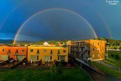 Double Rainbow in Trondheim by Aziz Nasuti on 500px