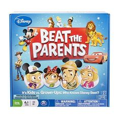 Take family game night to the next level with this Disney Beat the Parents trivia game from Spin Master Games. Family Game Night, Family Games, Disney Trivia Questions, Beat The Parents, Parent Board, Disney Games, Kids Growing Up, Gifts For Girls, Kids And Parenting