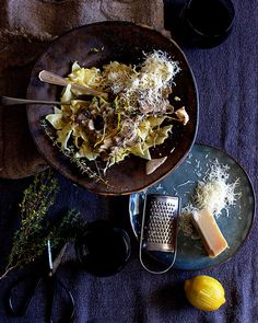 Mushroom & Mascarpone Pasta with Lemon and Thyme recipe – All 4 Women Mushroom Pasta, Mushroom Recipes, Steak And Kidney Pie, Thyme Recipes, 15 Minute Meals, Stuffed Mushrooms, Stuffed Peppers, Healthy Family Meals, Mascarpone