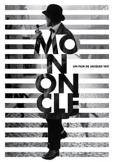 Mon Oncle Movie Identity on Behance: