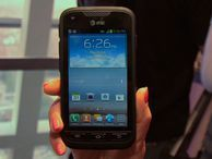 Bring on the abuse for the Galaxy Rugby Pro Hikers and butterfingers alike may be interested in Samsung's rugged Galaxy smartphone, which claims to withstand water dunks and frequent drops. Bridget Carey shows off the latest tough Android phone to be sold at AT&T.