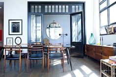 If only I could live at One Brooklyn Bridge!  **** Go Inside Athena Calderone's Seriously Beautiful BK Digs #refinery29