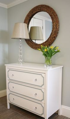 IKEA Hemnes Make-Over with Overlays! | Bedrooms | Pinterest