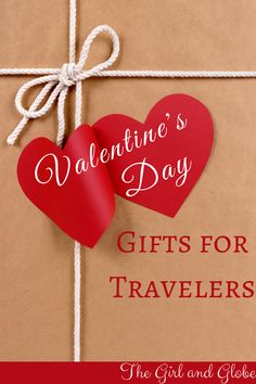 Valentine's Day gift ideas for travelers! These travel gift ideas fit all occasions and budgets.