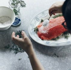 campfire salmon// nikole herriot and michael graydon for kinfolk