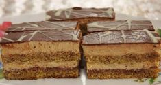Czech Recipes, Ethnic Recipes, Czech Desserts, Traditional Cakes, Homemade Cakes, Food Dishes, Nutella, Baked Goods, Sweet Recipes