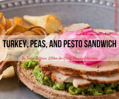 Top Chef Fabio Viviani has created this flavorful sandwich, perfect for re-purposing all those turkey leftovers that are sitting in your fridge.