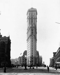 Flatiron, 1904 Times square