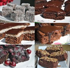 6 Prajituri de post cu ciocolata Romanian Food, Square Cakes, Raw Vegan Recipes, Vegan Cake, Chocolate Lovers, Protein, Fudge, Love Food, Cake Recipes