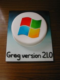 cake for a computer geek