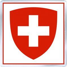 Internet Store of Worldwide Souvenirs - Acrylic Fridge Magnet: Switzerland - Coat of Arms of Switzerland Internet Store, American Red Cross, Photo Magnets, Coat Of Arms, Switzerland, Beautiful Places, Art, Souvenir, Art Background