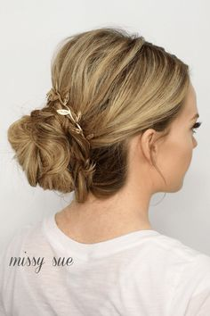 Braid Wrapped Low Bun | MissySue.com #twoBraided - #braid #missysue #twobraided #wrapped - #new # tight Braids up dos # tight Braids up dos #haarzöpfe enge # tight Braids up dos