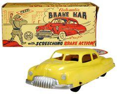 1951 Marx, Automatic Brake Kar w/Screeching Brake Action (Factory Sample)