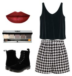 Untitled #47 by athenark on Polyvore featuring polyvore, fashion, style, MANGO, Emma Cook, Dr. Martens, Bobbi Brown Cosmetics and clothing