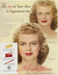 THE MAYBELLINE STORY   : Maybelline a pioneer in Advertising, the first to ...
