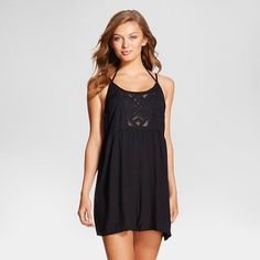 8be991cd8d The Women's Strappy Back Cover Up Dress - Xhilaration™ will look cute at  the beach