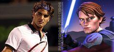Roger Federer y Anakin Skywalker