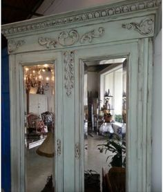 Pretty French armoire
