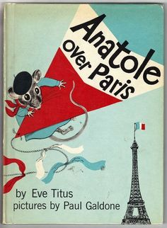 Vintage Children's Book ~ ANATOLE OVER PARIS by Eve Titus and Paul Galdone