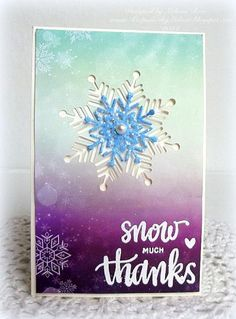 A fun and simple thank you card made with the Simon Says Stamp January 2015 Card Kit, Winter Wonderland.  ***Thanks for taking a peek!***  DT Member for [url=http://www.simonsaysstamp.com/servlet/StoreFront]Simon Says Stamp[/url]!                                           and Splitcoast Dirty Dozen Alumni!  [url=http://keepsakesbymelissa.blogspot.com/]My Blog[/url]!