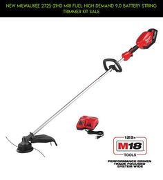 NEW MILWAUKEE 2725-21HD M18 FUEL HIGH DEMAND 9.0 BATTERY STRING TRIMMER KIT SALE #tech #trimmers #technology #fpv #kit #plans #racing #shopping #parts #gadgets #drone #kit #products #camera