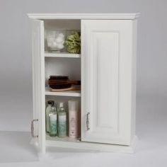 St. Paul Providence 20 in. W Over John Wall Cabinet in White-PROJ25COM-W - The Home Depot