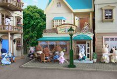 Calico Critters village diorama