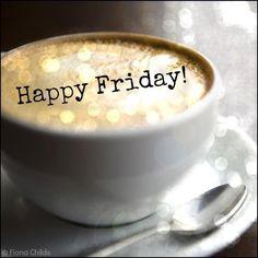 Happy Friday Coffee, loving the gold flecks :) Good Morning Coffee, Good Morning Good Night, Coffee Break, Gd Morning, Friday Morning, Hello Friday, Happy Friday, Happy Weekend, Hello Weekend