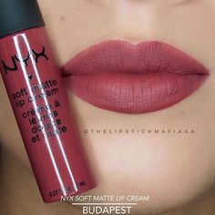 @nyxcosmetics Soft Matte Lip Cream in BUDAPEST