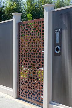 Love this gate: Entanglements Metal Art Home Renovator #gate #metalart #door   ..rh