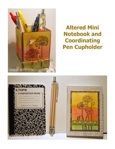 Chit Chats and Crafts : Altered Notebooks