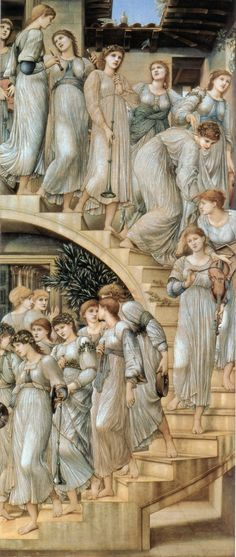 The Golden Stairs by Edward Burne-Jones