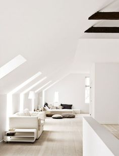 monochrome architecture living room Sublime renovation