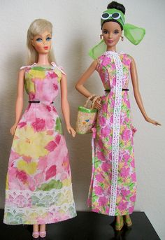 Lilly Barbie battles by Gina2424, via Flickr