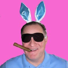 Now you know what the Easter Bunny really looks like!