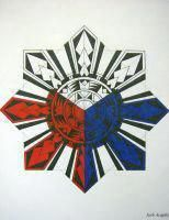 Only the best free Filipino Sun Tribal Tattoo Designs tattoo's you can find online! Filipino Sun Tribal Tattoo Designs tattoo's to print off and take to your tattoo artist. Tattoos Phönix, Hawaiianisches Tattoo, Tattoo Son, Star Tattoos, Sleeve Tattoos, Fiji Tattoo, Tattoo Names, Tattoo Wings, Tattoo Forearm