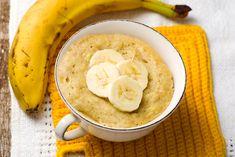 Paleo Banana Mug Cake Banana Mug Cake, Cake Mug, Banana Nut Bread, Bariatric Eating, Bariatric Recipes, Bariatric Surgery, Mug Cake Banane, Mug Cake Micro Onde, Doce Banana