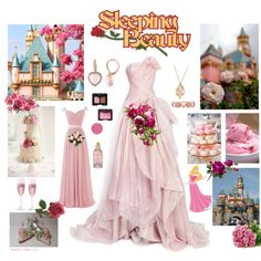 Sleeping Beauty By Roza On Polyvore Featuring Art My Sets D Pinterest And