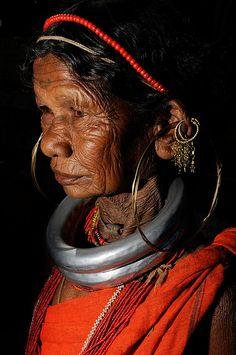 Gadba woman, Orissa, India