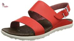 Merrell Around Town Backstrap Print, Sandales Bout Ouvert Femme, Rouge (Fiery Red), 39 EU - Chaussures merrell (*Partner-Link)