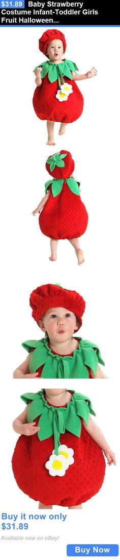 kids costumes baby strawberry costume infant toddler girls fruit halloween fancy dress buy it - Strawberry Halloween Costume Baby