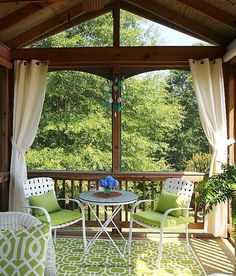 Home Renovation Backyard Summer Porch Tour by A Cultivated Nest Outdoor Decor, Outdoor Space, Backyard Projects, Screened In Patio, Home, Craftsman Style Home, Outdoor Spaces, Outdoor Living, Backyard For Kids