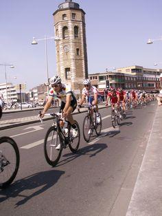 4 jours de Dunkerque 2008 (Léonardo Scarselli, maillot à pois)