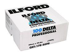 Ilford Delta Pro 100 35mm bulk film