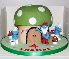 Smurfs — Children's Birthday Cakes