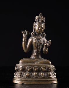 A statue of Vajrapani India, Ladakh, 16th-17th Century (?)