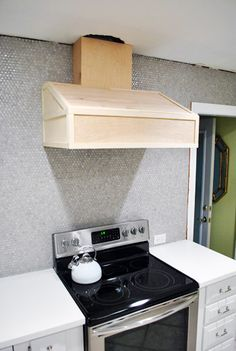 DIY Range Hood Cover Plans | RE: what\'s the cheapest way to make a ...